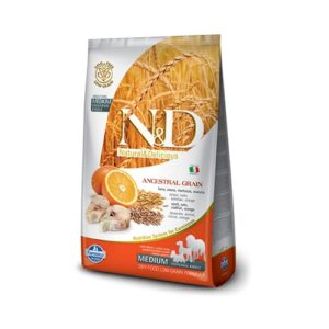 Farmina N&D Low Grain Codfish and Orange Adult Dog Medium
