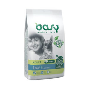 OASY ONE PROTEIN MINI ADULT JAGNJETINA 2,5kg